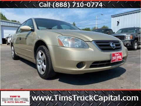 2002 Nissan Altima for sale at TTC AUTO OUTLET/TIM'S TRUCK CAPITAL & AUTO SALES INC ANNEX in Epsom NH