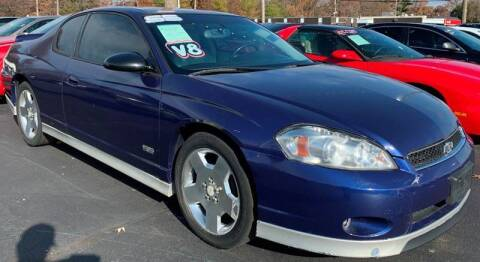 2006 Chevrolet Monte Carlo for sale at American Motors Inc. - Belleville in Belleville IL