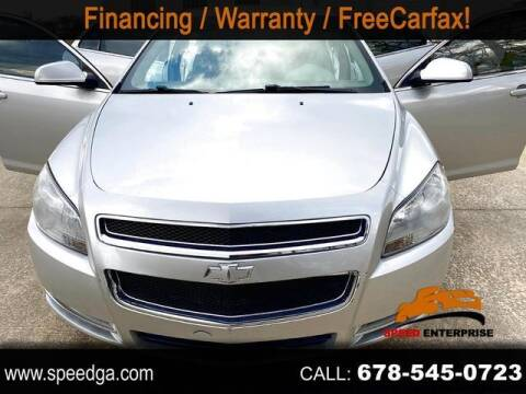 2011 Chevrolet Malibu for sale at JES Auto Sales LLC in Fairburn GA