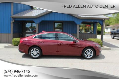 2016 Chevrolet Malibu for sale at Fred Allen Auto Center in Winamac IN