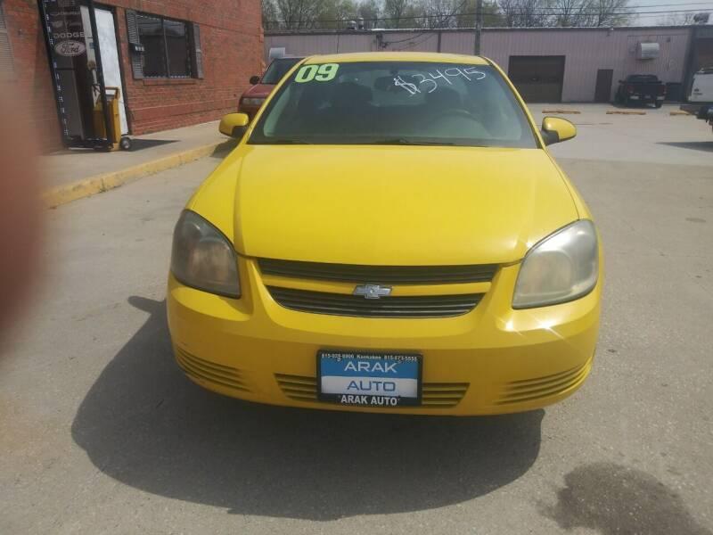 2009 Chevrolet Cobalt for sale at Arak Auto Group in Bourbonnais IL