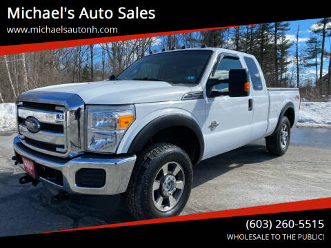 2012 Ford F-250 Super Duty for sale at Michael's Auto Sales in Derry NH