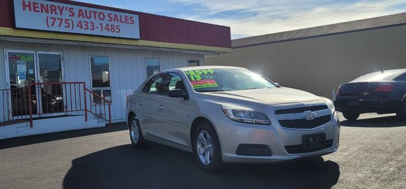 2013 Chevrolet Malibu for sale at Henry's Autosales, LLC in Reno NV
