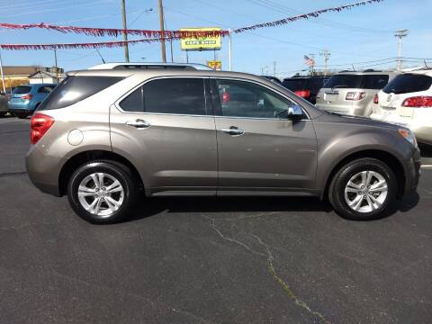 2012 Chevrolet Equinox for sale at Kenny's Auto Sales Inc. in Lowell NC