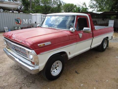 1969 Ford F-150 for sale at Classic Car Deals in Cadillac MI