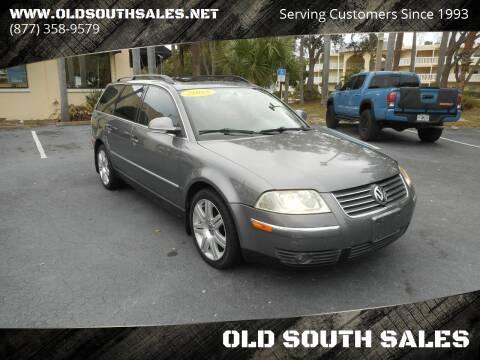 2005 Volkswagen Passat for sale at OLD SOUTH SALES in Vero Beach FL