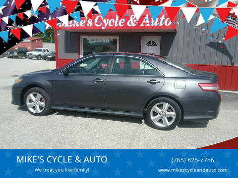 2011 Toyota Camry for sale at MIKE'S CYCLE & AUTO - Mikes Cycle and Auto (Liberty) in Liberty IN
