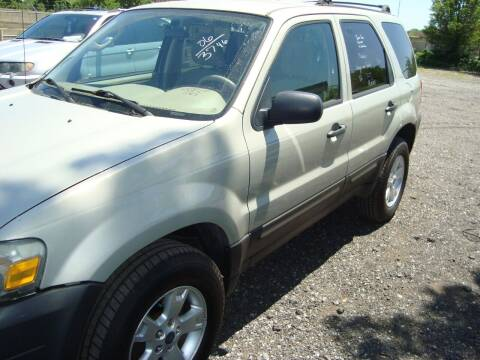 2006 Ford Escape for sale at Branch Avenue Auto Auction in Clinton MD