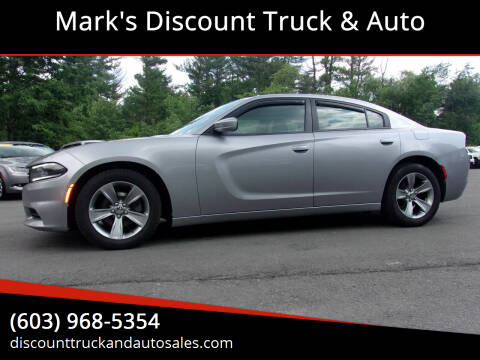 2015 Dodge Charger for sale at Mark's Discount Truck & Auto in Londonderry NH