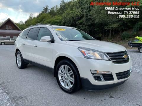 2013 Chevrolet Traverse for sale at Armenia Motors in Seymour TN