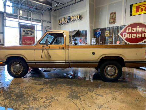 1979 Dodge D250 Pickup Adventurer for sale at Cool Classic Rides in Redmond OR