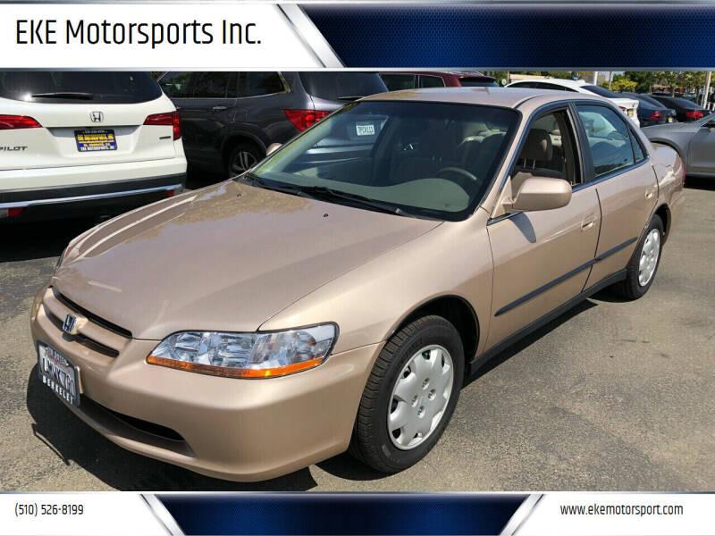 2000 Honda Accord for sale at EKE Motorsports Inc. in El Cerrito CA