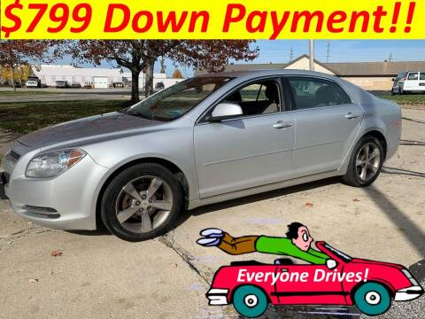 2011 Chevrolet Malibu for sale at World Automotive in Euclid OH