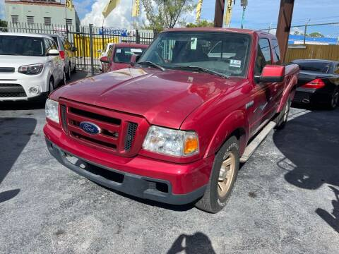 2006 Ford Ranger for sale at AUTO ALLIANCE LLC in Miami FL