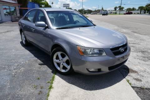 2007 Hyundai Sonata for sale at J Linn Motors in Clearwater FL