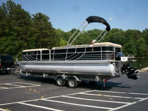 2010 South Bay Tritoon for sale at Carolina Classics & More in Thomasville NC