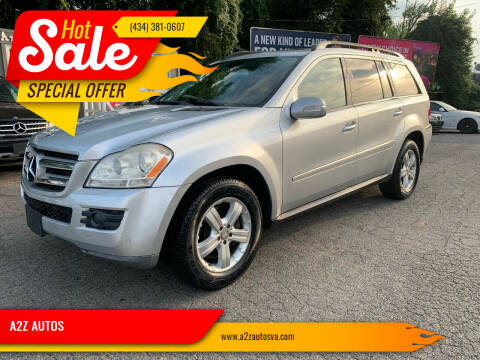 2008 Mercedes-Benz GL-Class for sale at A2Z AUTOS in Charlottesville VA