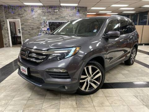 2017 Honda Pilot for sale at Sonias Auto Sales in Worcester MA
