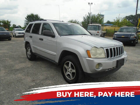 2005 Jeep Grand Cherokee for sale at J & F AUTO SALES in Houston TX