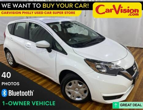 2017 Nissan Versa Note for sale at Car Vision Mitsubishi Norristown - Car Vision Philly Used Car SuperStore in Philadelphia PA