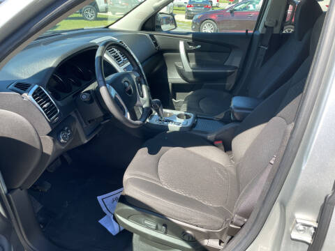 2011 GMC Acadia for sale at LAURINBURG AUTO SALES in Laurinburg NC