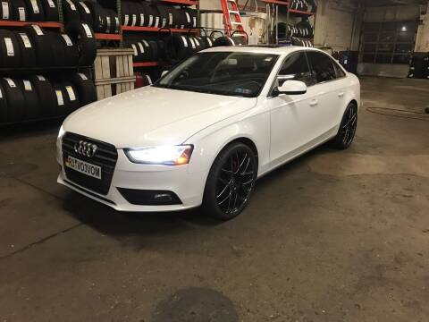 2013 Audi A4 for sale at MG Auto Sales in Pittsburgh PA