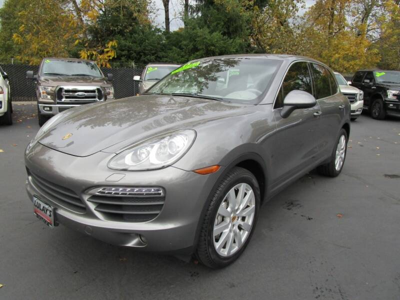 2011 Porsche Cayenne for sale at LULAY'S CAR CONNECTION in Salem OR