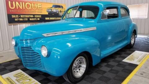 1941 Chevrolet Special for sale at UNIQUE SPECIALTY & CLASSICS in Mankato MN