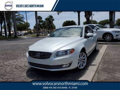 2016 Volvo S80 for sale at Volvo Cars North Miami in Miami FL