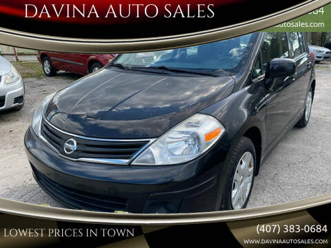 2011 Nissan Versa for sale at DAVINA AUTO SALES in Orlando FL