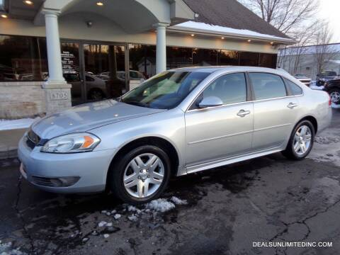 2013 Chevrolet Impala for sale at DEALS UNLIMITED INC in Portage MI