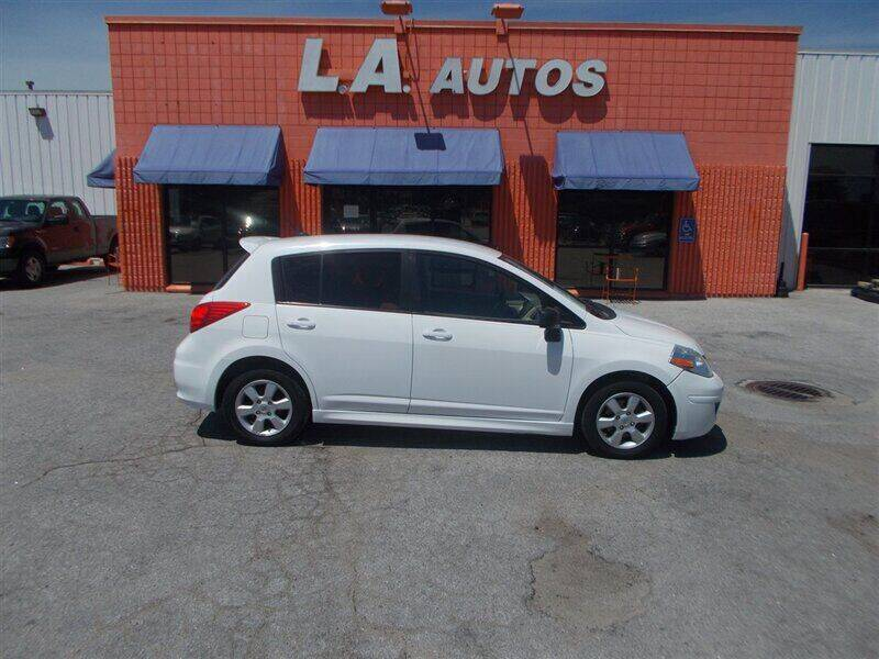 2010 Nissan Versa for sale at L A AUTOS in Omaha NE