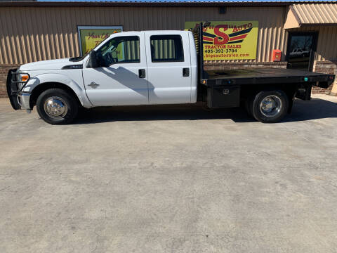 2012 Ford F-350 Super Duty for sale at BIG 'S' AUTO & TRACTOR SALES in Blanchard OK