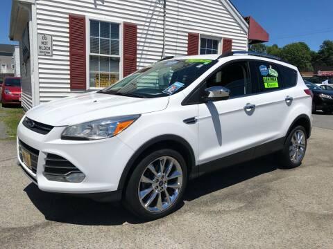 2016 Ford Escape for sale at Crown Auto Sales in Abington MA