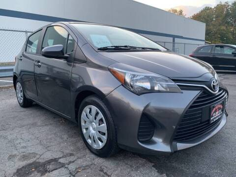 2015 Toyota Yaris for sale at JerseyMotorsInc.com in Teterboro NJ