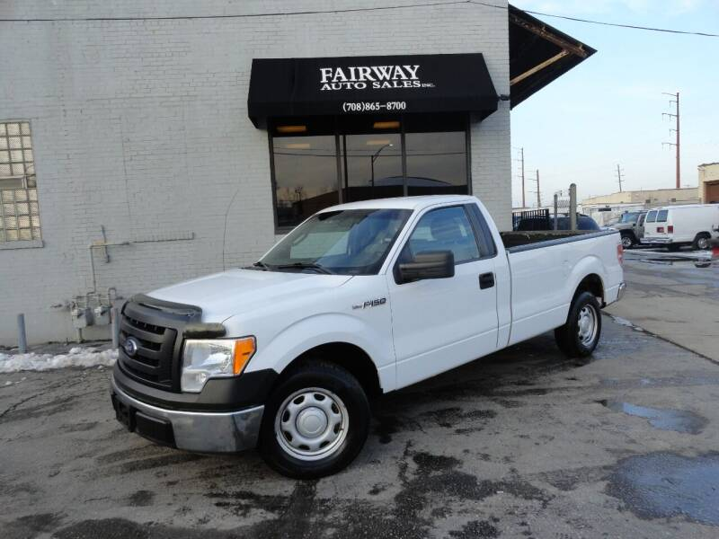 2012 Ford F-150 for sale at FAIRWAY AUTO SALES, INC. in Melrose Park IL