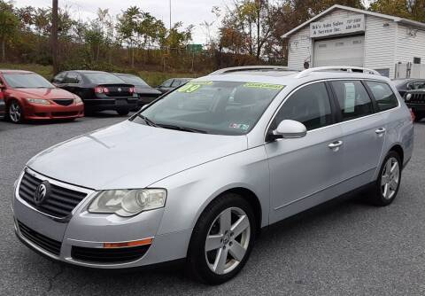 2009 Volkswagen Passat for sale at Bik's Auto Sales in Camp Hill PA