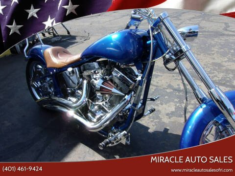 2003 VULCAN WORKS VALCAN CHOPPER for sale at MIRACLE AUTO SALES in Cranston RI