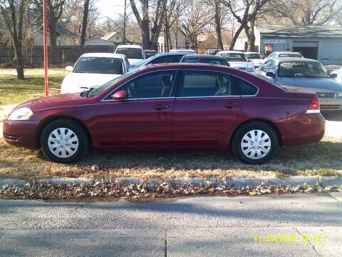 2006 Chevrolet Impala for sale at D & D Auto Sales in Topeka KS