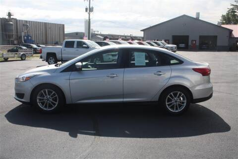 2016 Ford Focus for sale at SCHMITZ MOTOR CO INC in Perham MN