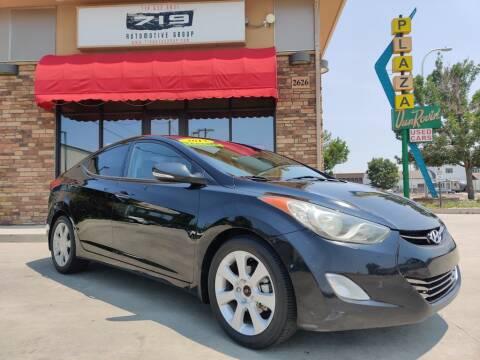 2013 Hyundai Elantra for sale at 719 Automotive Group in Colorado Springs CO