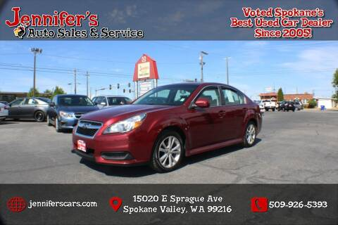 2014 Subaru Legacy for sale at Jennifer's Auto Sales in Spokane Valley WA