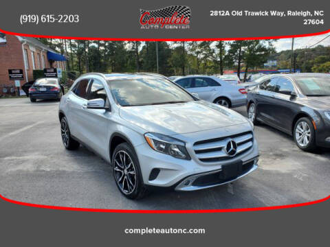 2017 Mercedes-Benz GLA for sale at Complete Auto Center , Inc in Raleigh NC