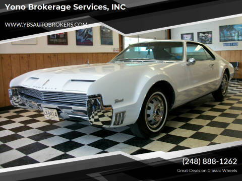 1966 Oldsmobile Toronado for sale at Yono Brokerage Services, INC in Farmington MI