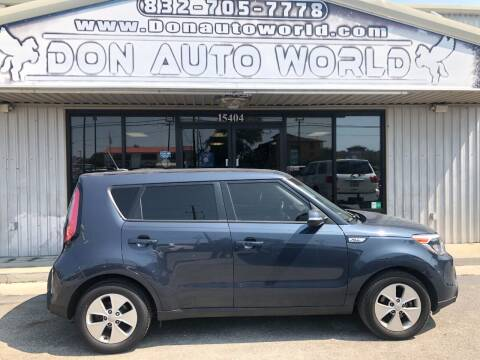 2014 Kia Soul for sale at Don Auto World in Houston TX