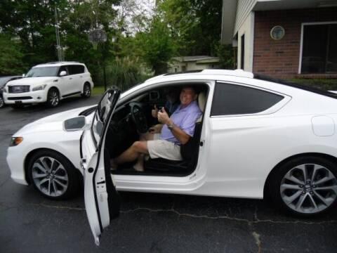 2014 Honda Accord for sale at HOGSTEN AUTO WHOLESALE in Ocala FL