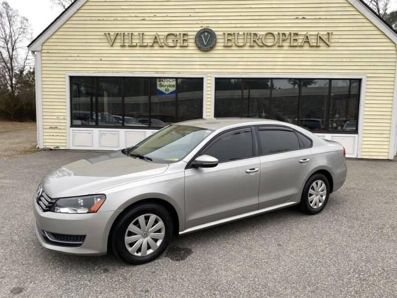 2012 Volkswagen Passat for sale at Village European in Concord MA
