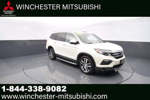 2017 Honda Pilot for sale at Winchester Mitsubishi in Winchester VA