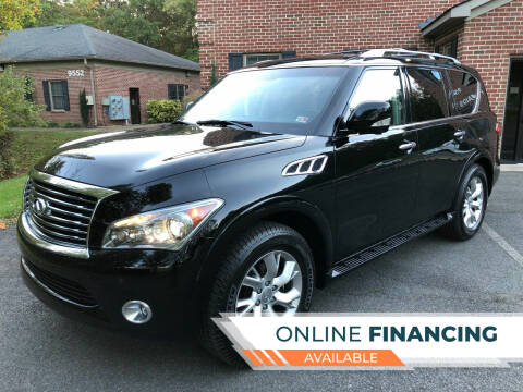 2012 Infiniti QX56 for sale at White Top Auto in Warrenton VA