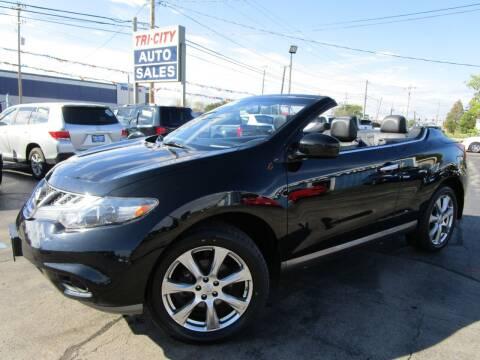 2014 Nissan Murano CrossCabriolet for sale at TRI CITY AUTO SALES LLC in Menasha WI